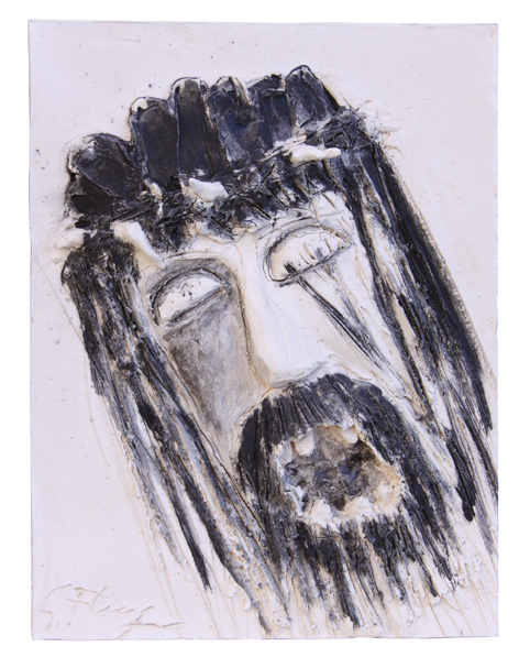 """""""Gesù muore per noi sulla croce"""" Argilla"""